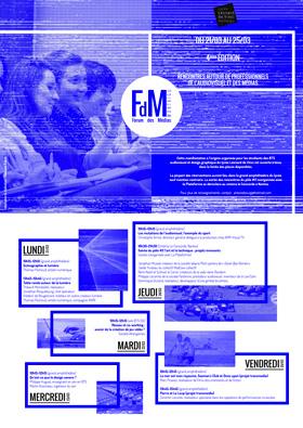 Programme Forum des médias