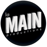 Logo de la page la main productions