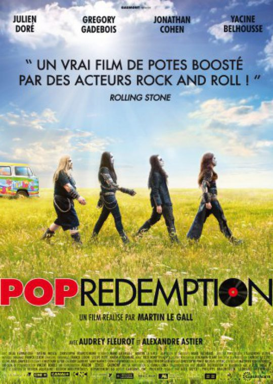 Logo de la page Pop redemption