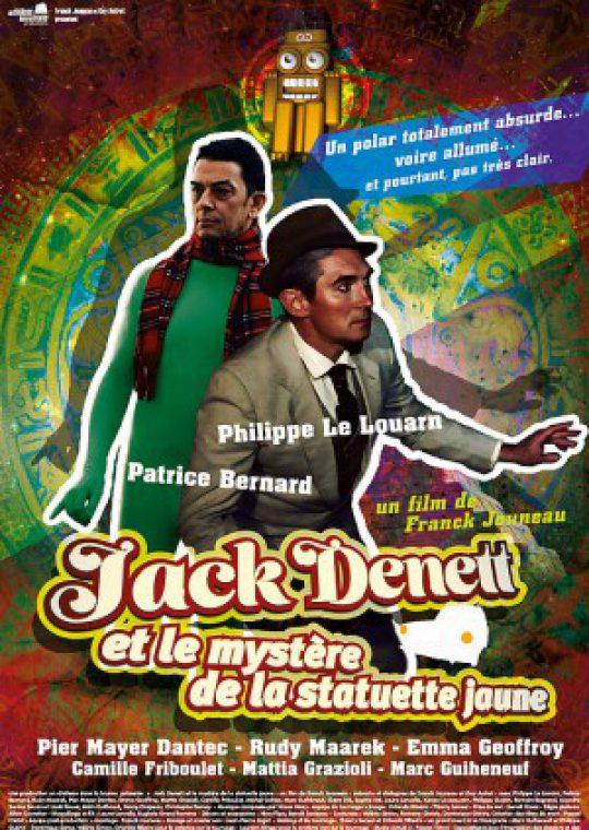 Logo de la page Jack Denett et le mystère de la statuette jaune