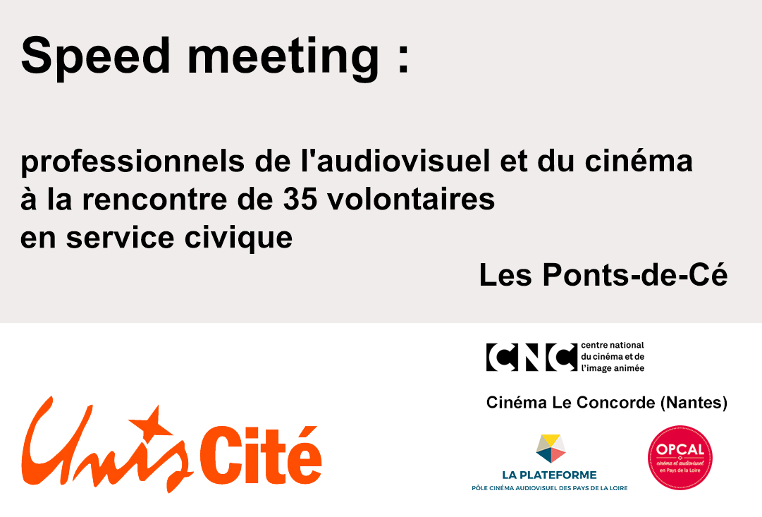 Speed Meeting Professionnels De L Audiovisuel Et Du Cinema